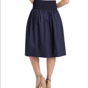 Vineyard Vines Smocked Waist Skirt